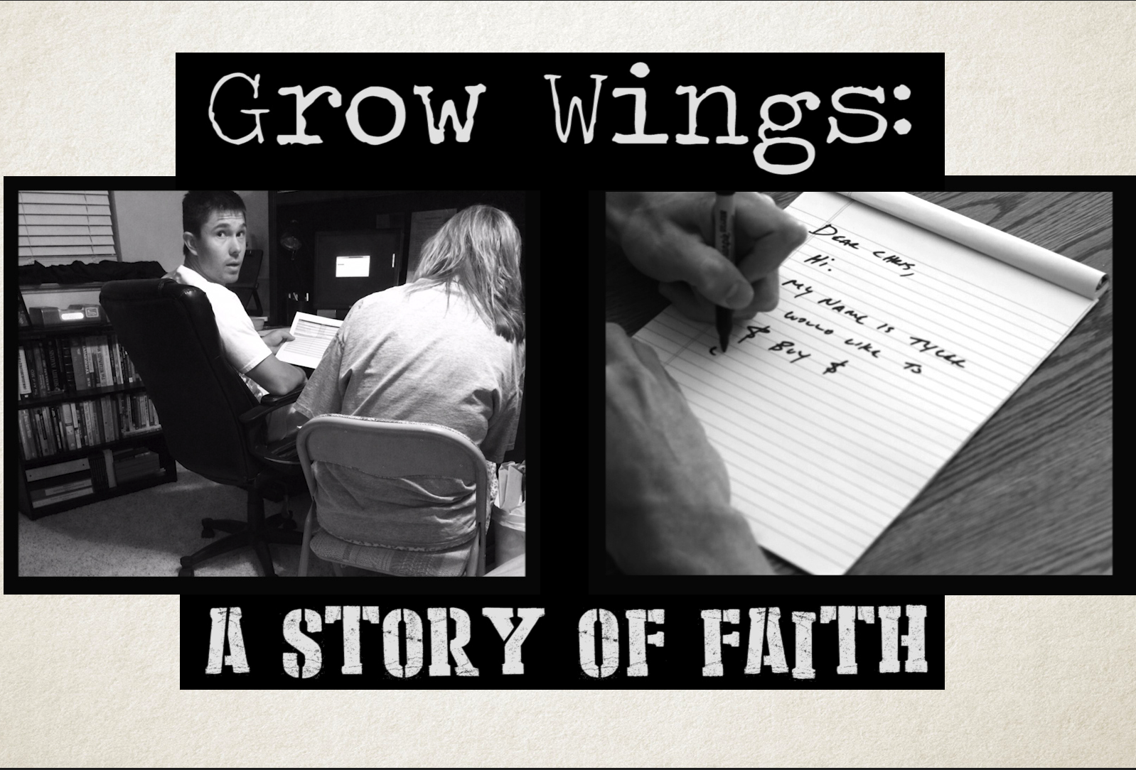 Grow Wings: A Story of Faith